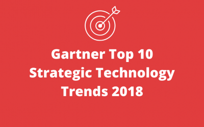 Gartner Top 10 Strategic Technology Trends 2018